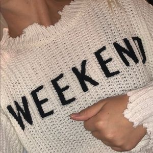 Weekend Sweater!